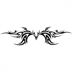 tattoo stamp vector image