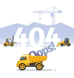 Error not found web page concept vector image
