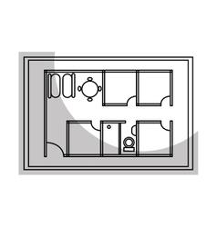 Architecture plans graphi design icon vector