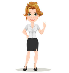businesswoman 06 vector image