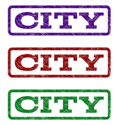 City watermark stamp vector