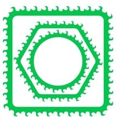 Green Frames vector