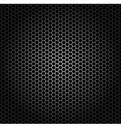 hexagon grid vector image vector image