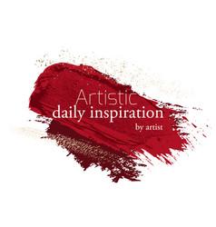make-up grunge glitter brush strokes clipart vector image