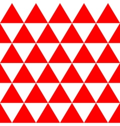 Red White Triangle Background vector
