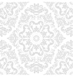 Classic seamless grey pattern vector