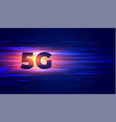 New 5g technology wireless internet eifi vector