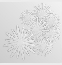 paper flower origami28 vector image