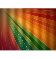 Rainbow corrugated cardboard background vector