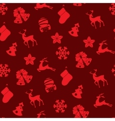 Stock seamless of winter and Christmas vector