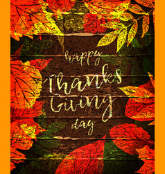 thanksgiving celebration traditional dinner vector image