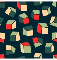 Abstract pattern Seamless geometric wallpaper vector image vector image