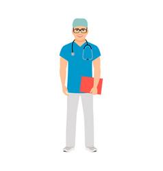 pediatrician medical specialist vector image vector image