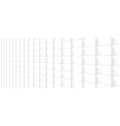 white perspective background vector image vector image