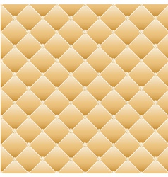 Abstract upholstery on a yellow background vector image