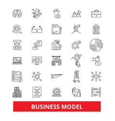 business plan development strategy project vector image