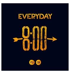 Everyday 800 vector