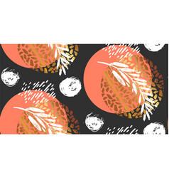 floral pattern wallpaper baroque damask vector image