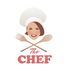 Logo chef-02 vector