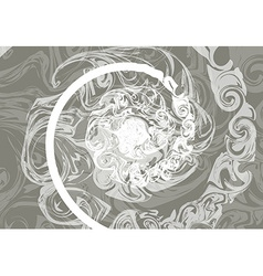 Marble texture with effect wet stone vector