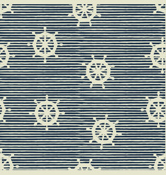 seamless pattern wheels and stripes vector image