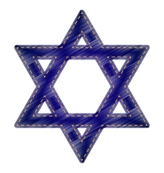 Shield Magen David Star vector