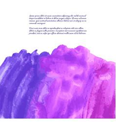 Ultra violet purple fuchsia grunge marble vector