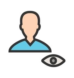 View Male Profile vector