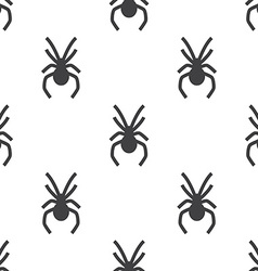 spider seamless pattern vector image vector image