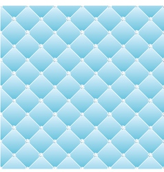 Abstract upholstery on a blue background vector image