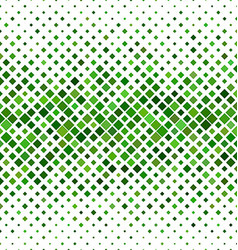 Green abstract square pattern background vector