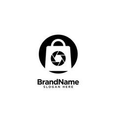 Camera store logo design inspiration vector
