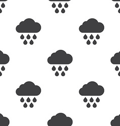 Cloud rain seamless pattern vector