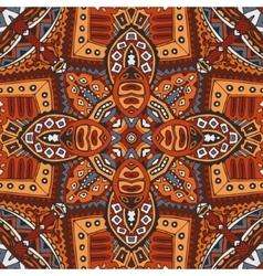 geometric ethnic tribal indian print vector image