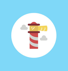 lighthouse icon sign symbol vector image