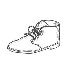 Men boots vector