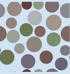 seamless background abstract geometric circles vector image