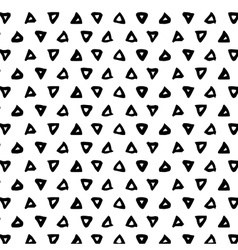 Triangl brush stroke seamless pattern with vector image vector image
