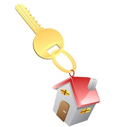 House Key vector image vector image