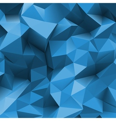 Stone triangle back blue vector image