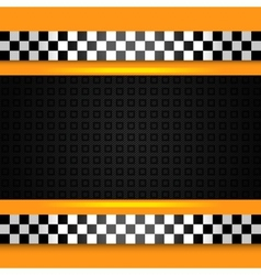 taxi cab pattern vector image