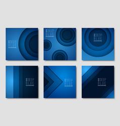 advertisement newsletter design templates vector image