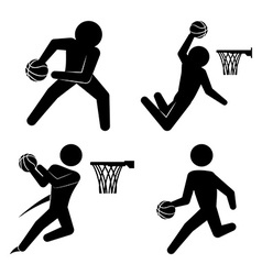 basketball design vector image