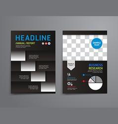 Brochure flyer magazine cover booklet poster vector