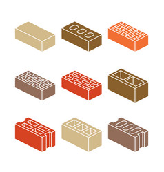 Building and contruction materials icons vector
