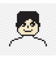 Pixel person vector image