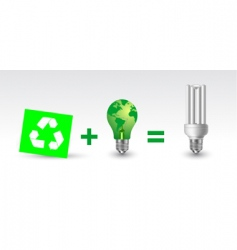 recycle concept vector image