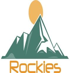 Rockies vector