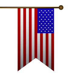isolated flag icon vector image