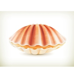 Seashell high quality vector image vector image